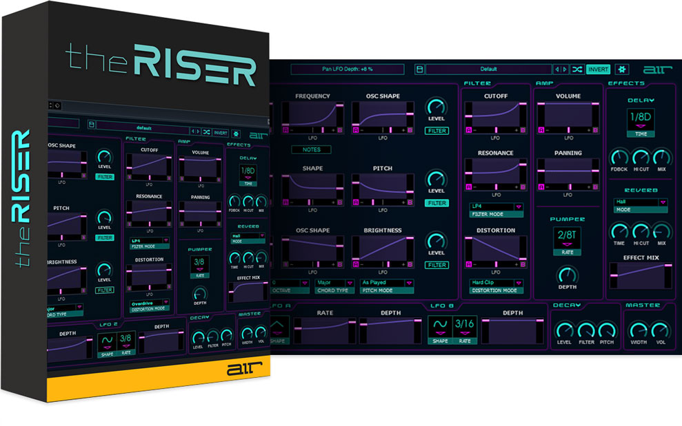 AIR Music Launches The Riser Transition Synth