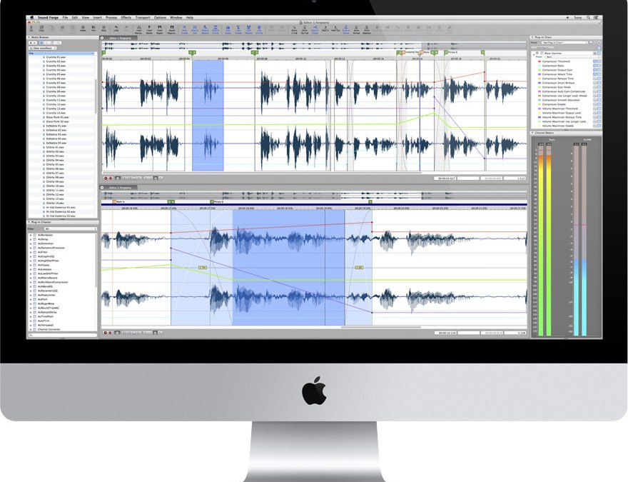 Sony Sound Forge 2 Hits the Mac App Store