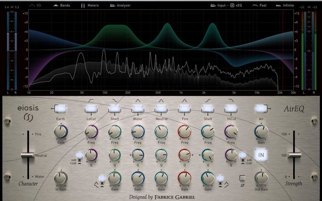Eiosis AirEQ Calls Upon the Elements for its Musical Sound
