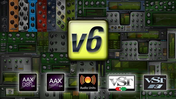 McDSP Version 6 Includes VST Format & Sonic Upgrades