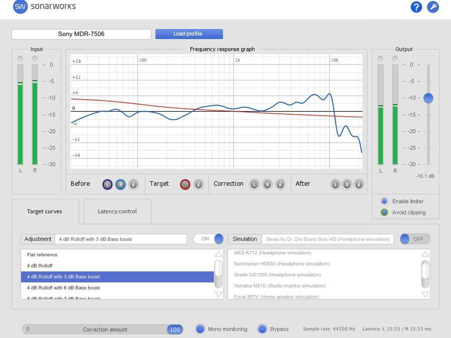 Sonarworks HD Refrerence Calibrates Headphones