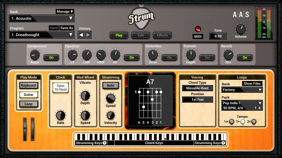 AAS Strum GS‐2 Gains New Guitar Models and Features