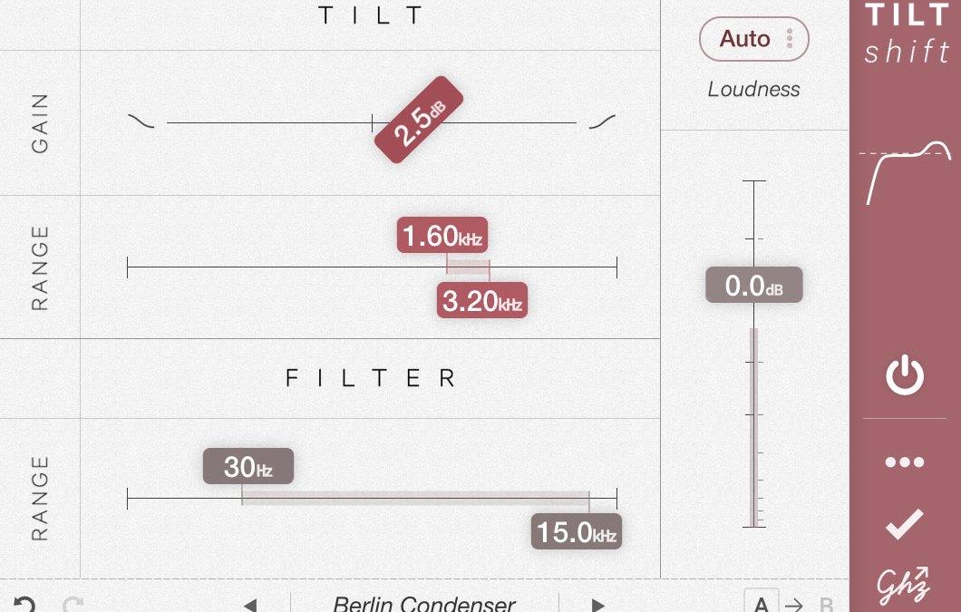 Goodhertz launches Tiltshift less-is-more tilt EQ