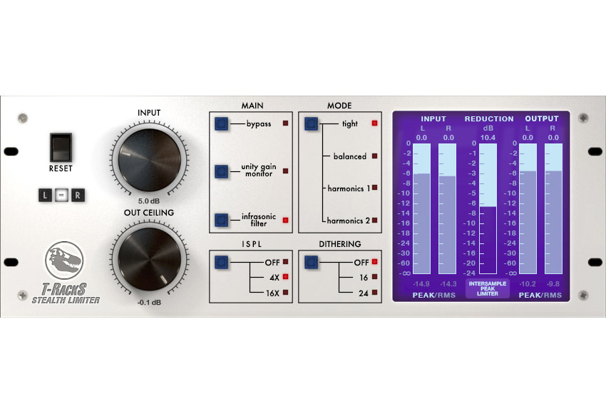 IK Multimedia reveals T-RackS Stealth Limiter
