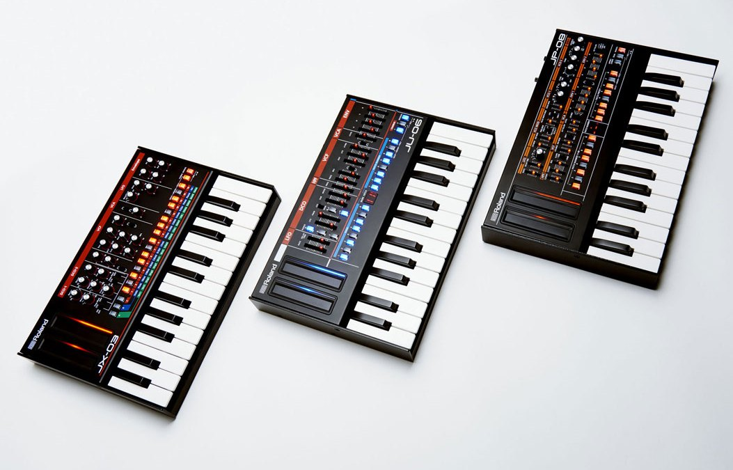 Roland Boutique line recreates classic analog synthesizers