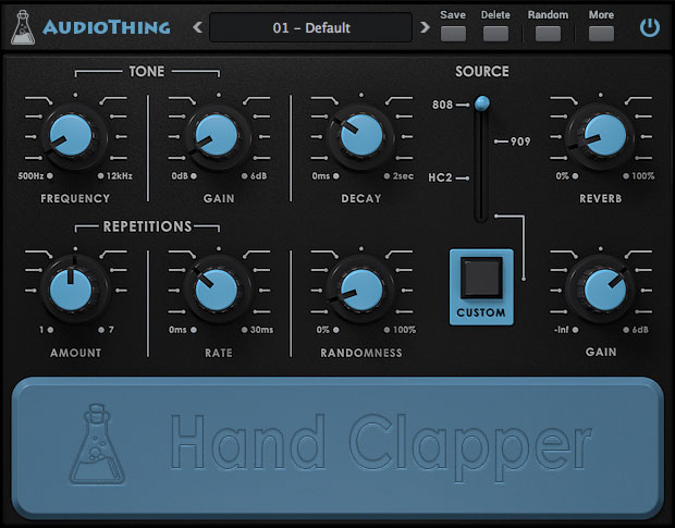 AudioThing Hand Clapper has an appropriate name