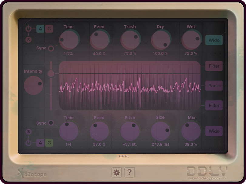 iZotope dispenses DDLY Dynamic Delay for free
