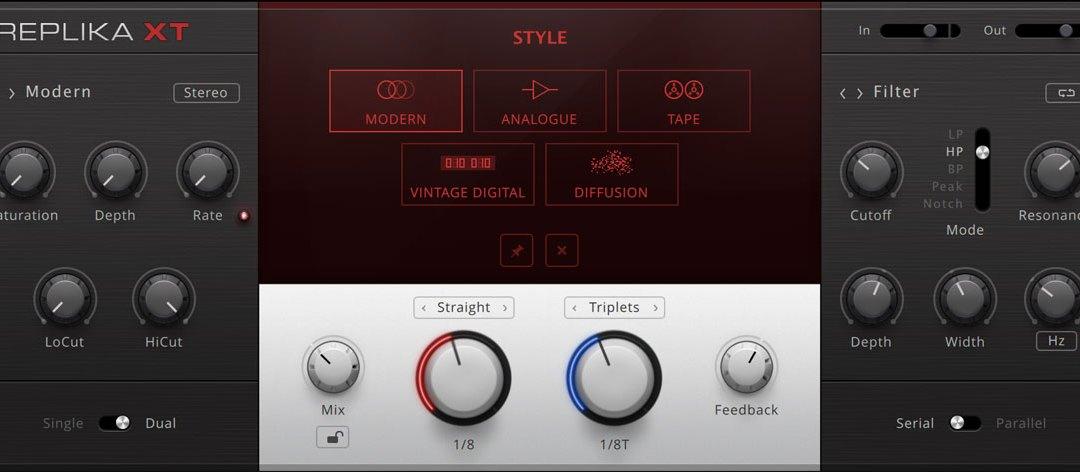 Native Instruments intros Replika XT creative multi-mode delay