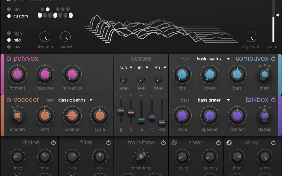 iZotope debuts VocalSynth vocoder and harmonizer plugin