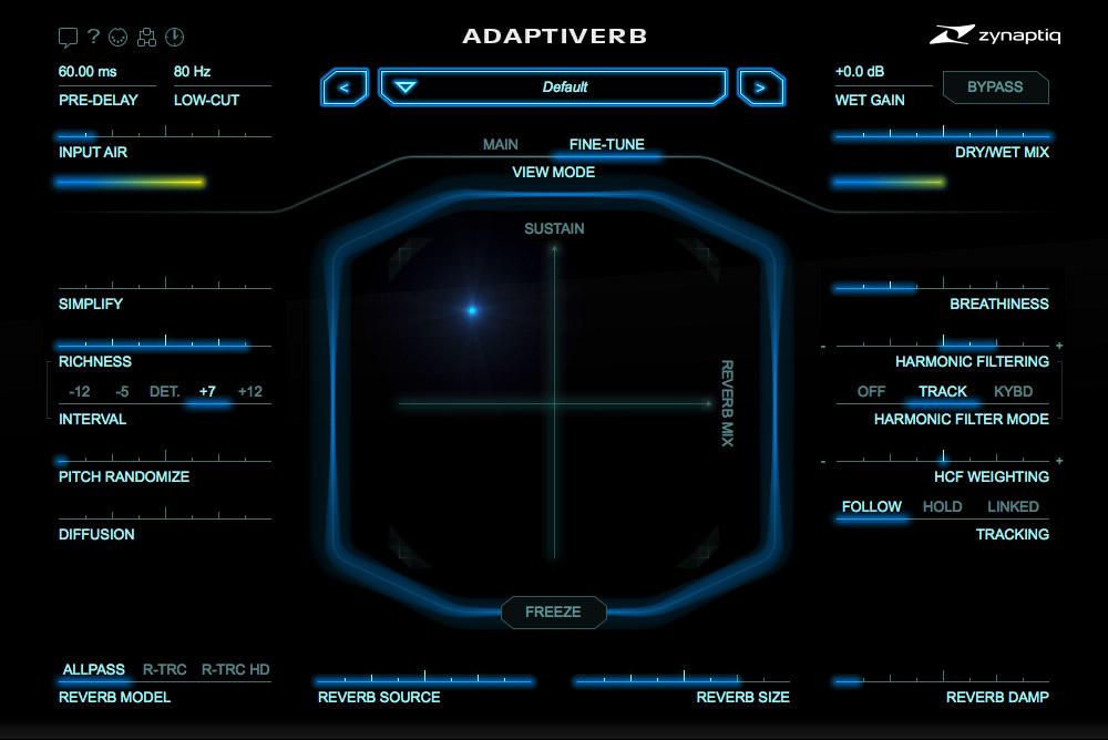 Zynaptiq unveils next generation smart Adaptiverb plugin