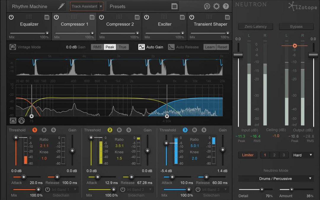 iZotope Neutron is your intelligent mix assistant