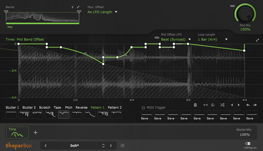Cableguys TimeShaper plugin reshapes t-t-time-emin your audio