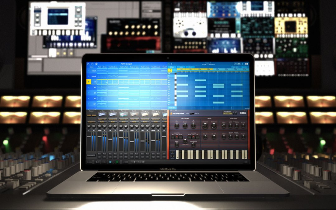 Korg Gadget all-in-one music app jumping from iOS to Mac