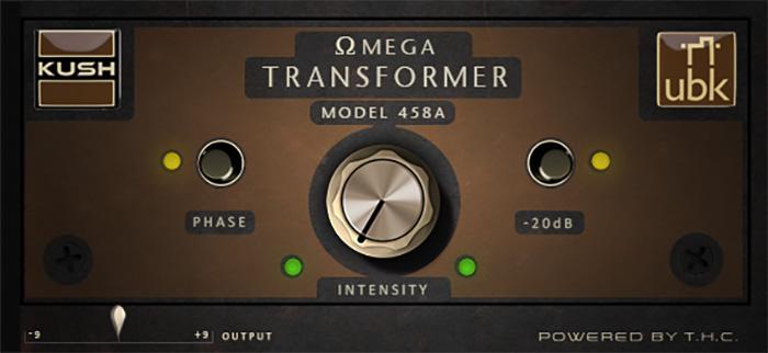 Kush bows Omega Transformer 458a true tube preamp emu