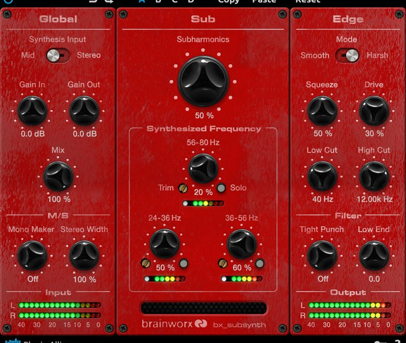 Plugin Alliance drops bx_subsynth subharmonic bass processer