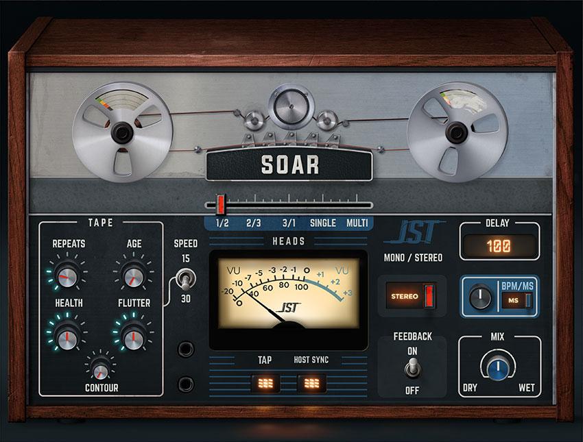 Joey Sturgis Tones intros Soar tape delay plugin