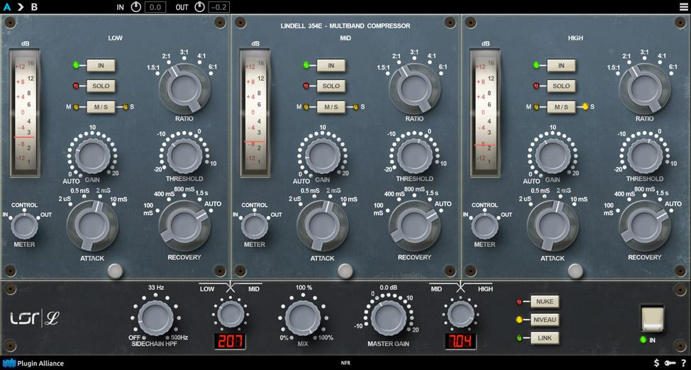 Lindell 354E evokes vintage Neve dynamics in modern form