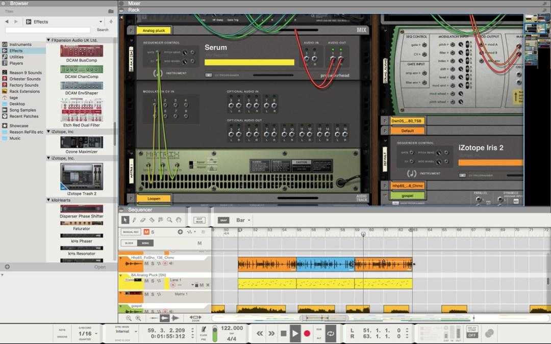 Propellerhead announces VST plugin support in Reason 9.5