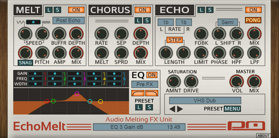 Psychic Modulation serves up EchoMelt audio melting plugin