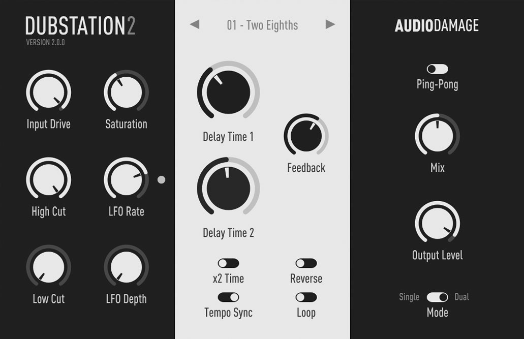 Audio Damage debuts Dubstation 2