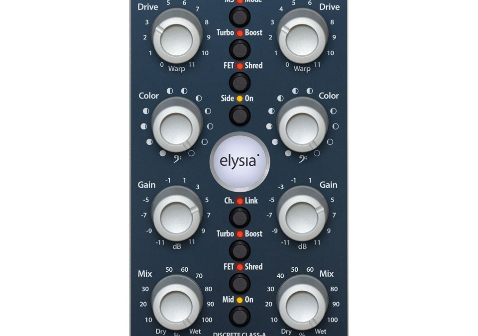 Add Karacter with new Elysia stereo saturator emulation
