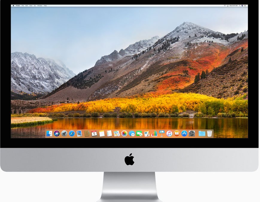 macOS High Sierra upgrades storage, video, and graphics