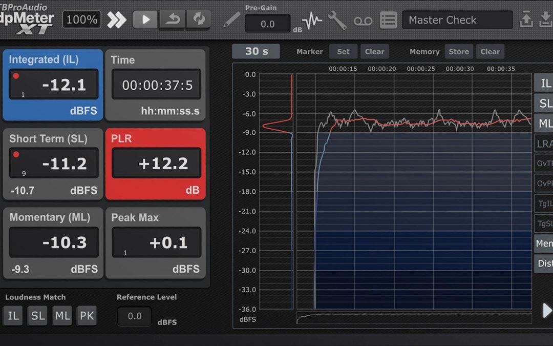 TBProAudio releases dpMeterXT digital precision meter