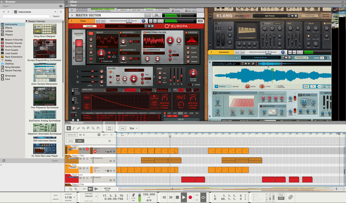 Propellerhead reveals Reason 10