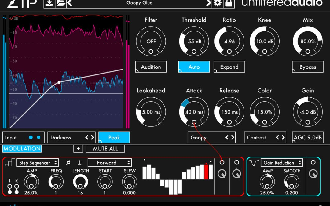 Unfiltered Audio Zip puts a twist on compression & expansion