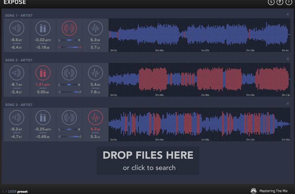 Mastering the Mix releases Expose track analyzer