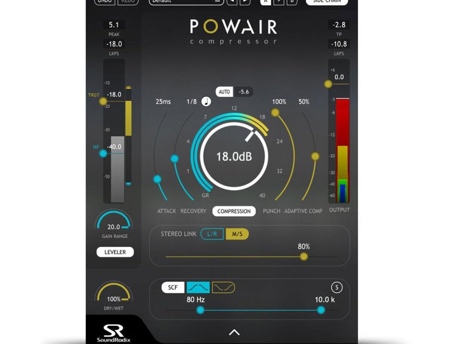 Sound Radix has got the Powair smart compressor