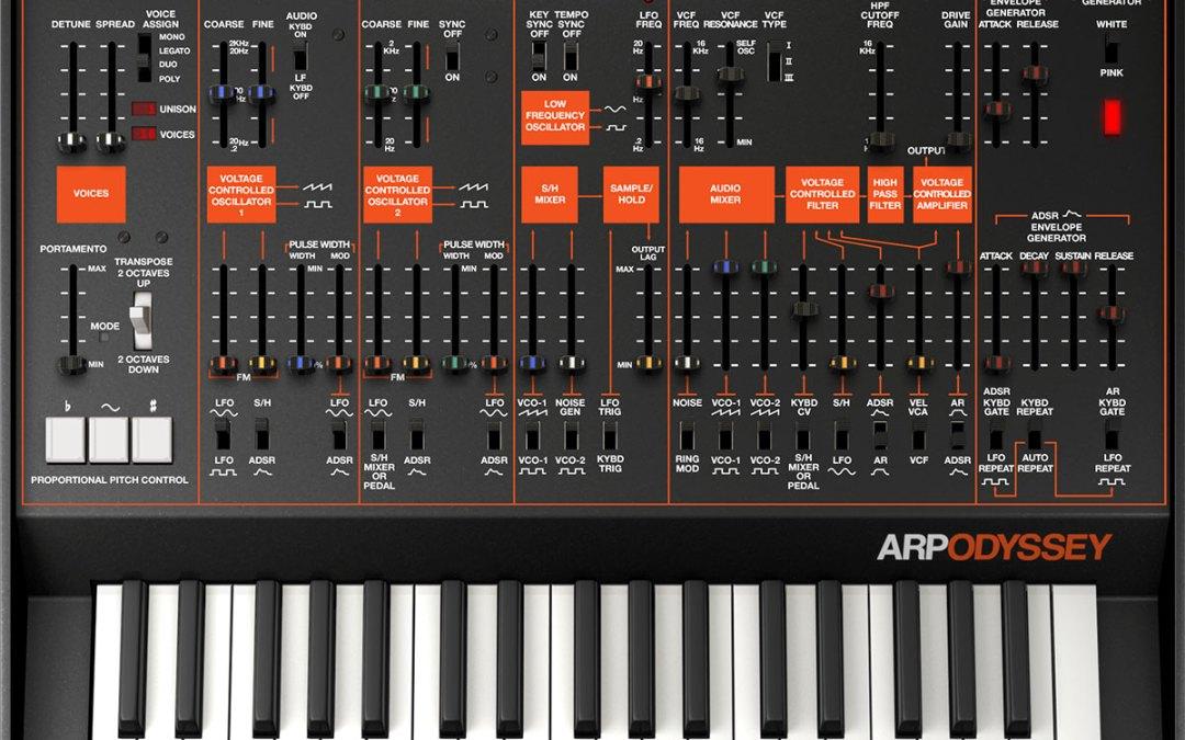 Korg revs Legacy Collection adding Arp Odyssey plugin