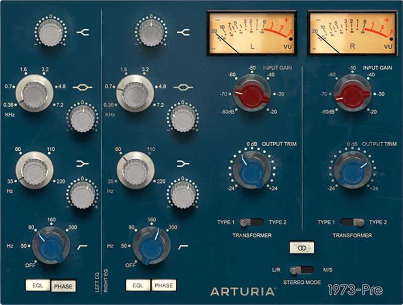 Arturia intros 3 preamps and 3 filters you'll actually use