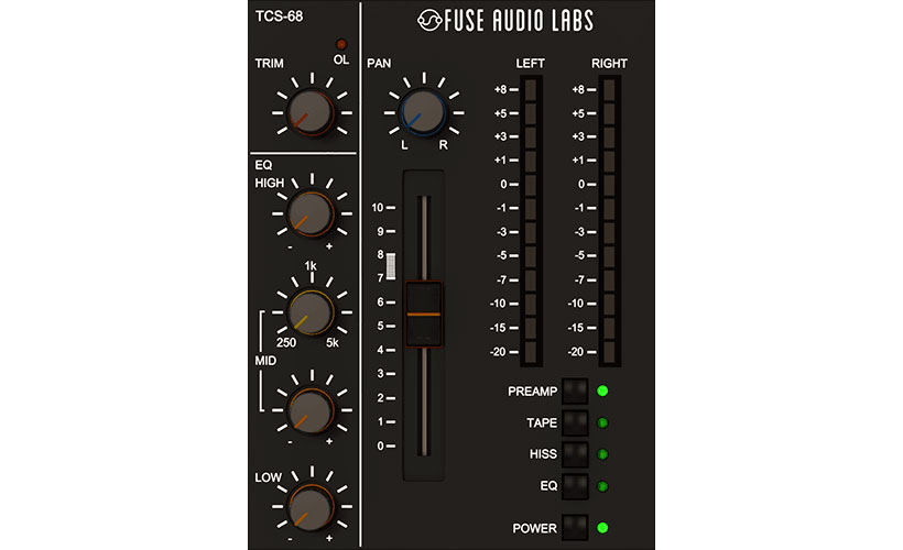 Fuse Audio Labs reveals TCS-68 Cassette Tape Channel