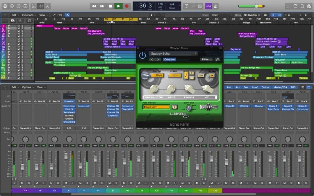 Line 6 brings Echo Farm 3.0 to AU and VST