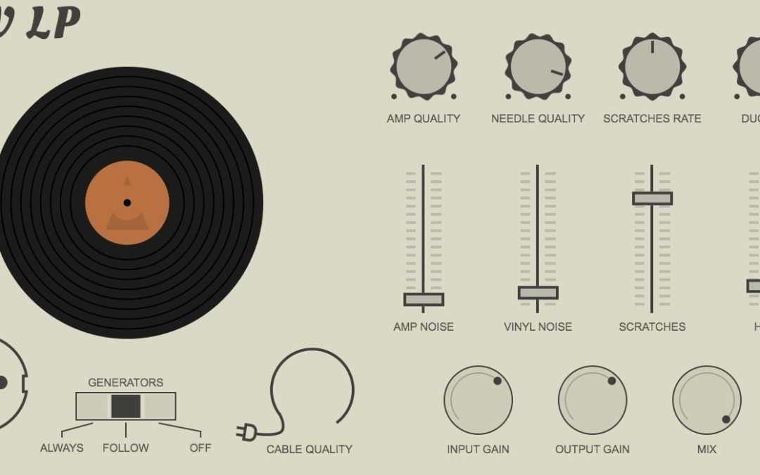 Klevgränd DAW LP brings vinyl record emulation to Mac & iOS