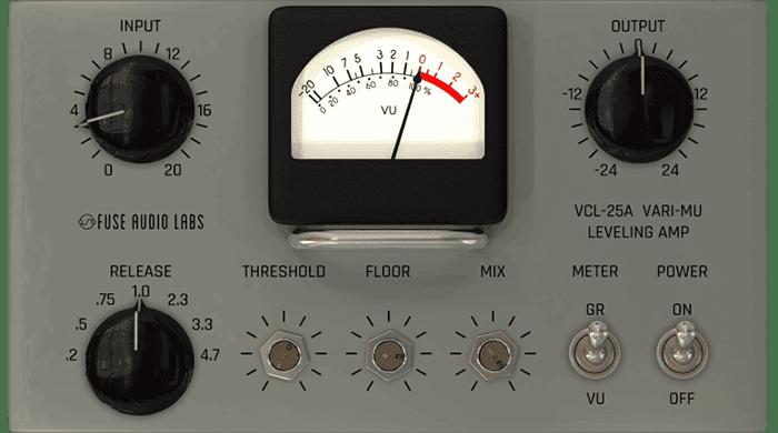Fuse Audio Labs launches VCL-25A Vintage Vari-Mu Leveler