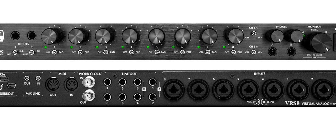 Slate Digital intros new VRS8 Thunderbolt interface