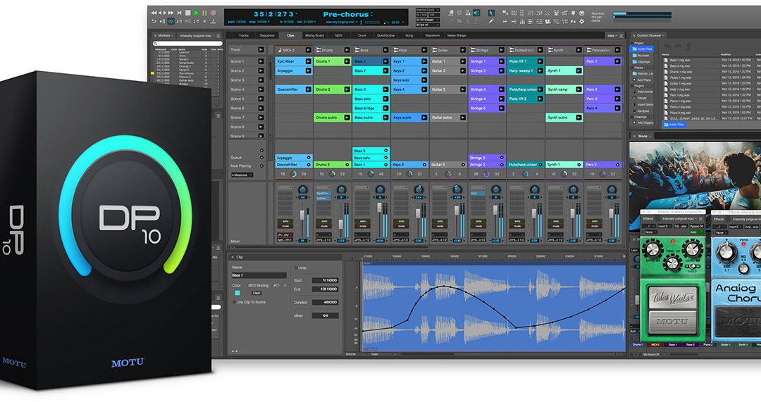 MOTU announces Digital Performer 10