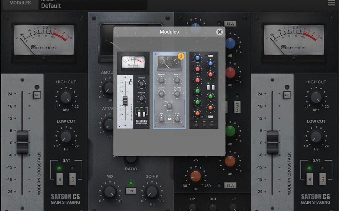 Sonimus previews Satson Channel Strip