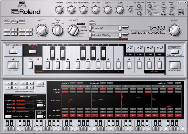 Roland Cloud TB-303