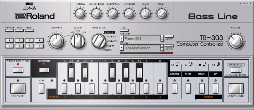 Roland Cloud reveals TB-303 plugin for 303 Day