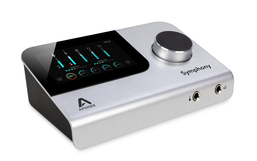 Apogee announces the all new Symphony Desktop