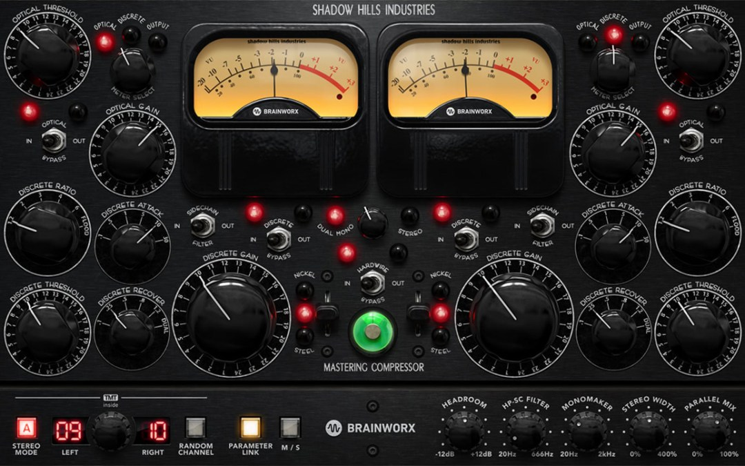 Plugin Alliance unleashes Shadow Hills Mastering Compressor Class A