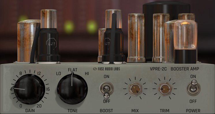 Fuse Audio Labs presents the VPRE-2C vintage booster amp