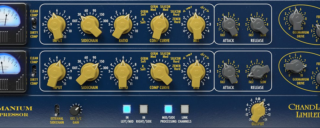 Softube releases Chandler Limited Germanium Compressor plugin