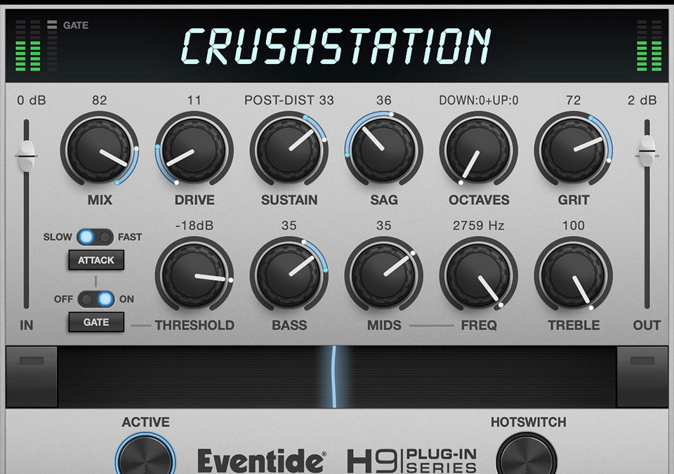 Eventide announces CrushStation distortion for desktop and iOS