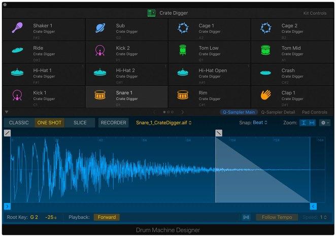 Apple Logic Pro X 10.5 - Drum Machine Designer