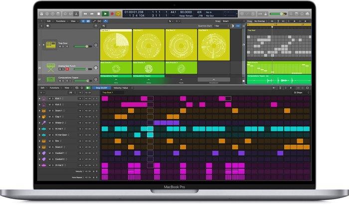 Apple Logic Pro X 10.5 - Step Sequencer
