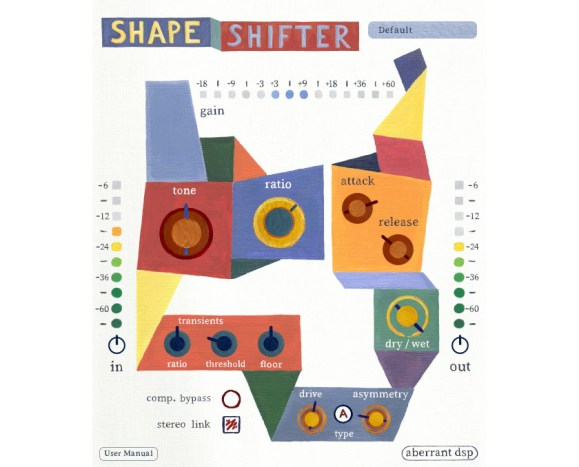 Aberrant DSP debuts ShapeShifter character compressor plugin | macOS Audio
